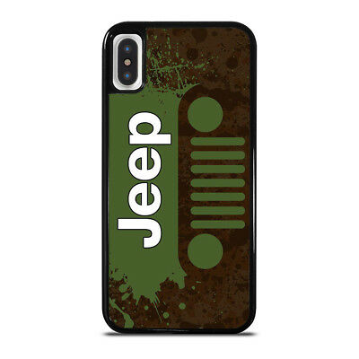 NEW JEEP LOGO iPhone 6/6S 7 8 Plus X/XS Max XR Case Cover