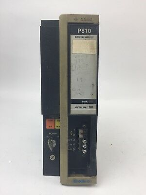 Gould Modicon P810-001 Power Supply 2Amp 120/240Vac 50/60Hz