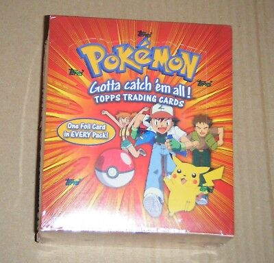 Pokemon Series 1 Topps TV Edition 2000, Sealed Trading Card Booster Hobby Box