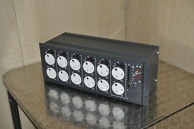 ZERO 88 BETAPACK 2  -  6 Channel Analog Control Dimmer w/ rack mounting - unit B