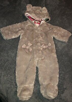 Gorgeous Ted Baker Baby Girl Snowsuit 3-6