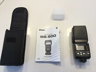 Nikon Speedlight SB-600 Shoe Mount Flash for  Nikon