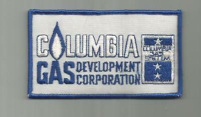 Vintage Columbia Gas System Development Corporation Patch Ohio Oh 4 1/2 Inches