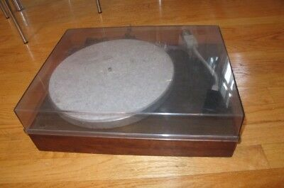 vintage AR acoustic research Model XA Turntable record player RUNS