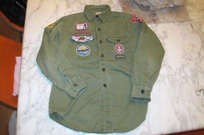 vintage 1964 BSA Boy Scouts of America national jamboree eagle patch SHIRT