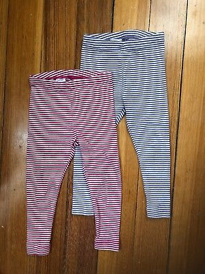 Lot of 2 Tea Collection Leggings Size 12-18 Months