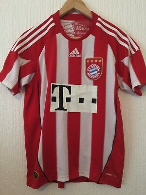 Fc Bayern Munich Home Football Shirt - Official Adidas 2010 / 2011 Season Shirt