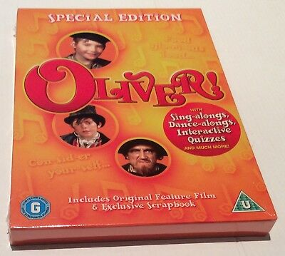 OLIVER - SPECIAL EDITION with SING-ALONG - NEW & SEALED - FREE & FAST DELIVERY!!