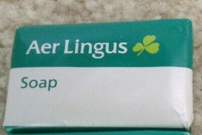 Four Bars--Aer Lingus / Irish Air Lines Bar Soap   Perfect for St. Patrick's Day