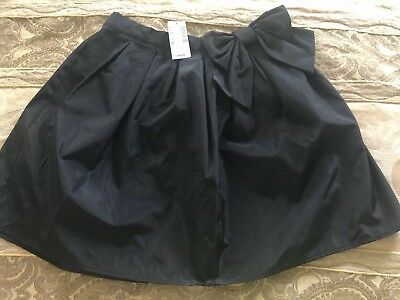 The Children's Place Skirt Sz 12 NWT On Black Holiday Bow
