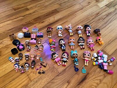 Lot of LOL Surprise Dolls
