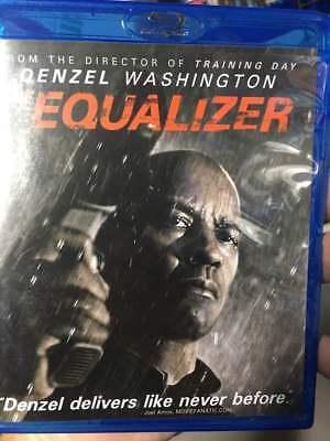 Equalizer, The Blu-Ray No DVD/Digital/Slip Like New FAST FREE Combine SHIPPING