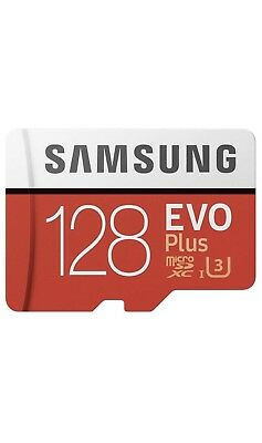 EVO Plus Micro SDXC 128GB bis - 100MB/s Class10 U3 Speicherkarte inkl.SD Adapter