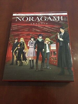 Noragami Segunda Temporada Completa - 3 Bluray + 64 Pages Book - Muy Buen Estado