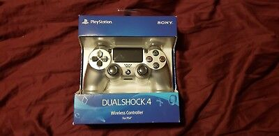 Dual Shock 4 SILVER Wireless Controller (Sony Playstation 4) NEW