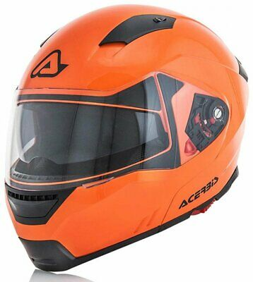Casco Acerbis Modulare Box-G 348 Orange Fluo/arancione Fluo