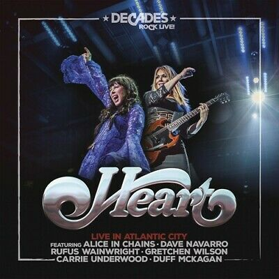 Heart - Live In Atlantic City [New CD] With DVD
