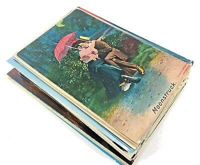 Lot of 80 Vintage postcards Random cards from the 1910s - 40's - 80's  Linen