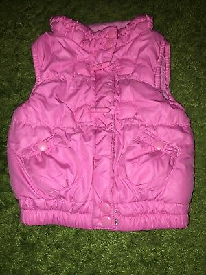 Baby Girls' Clothing (0-24 Months) 12-18 Month Gilet Pink