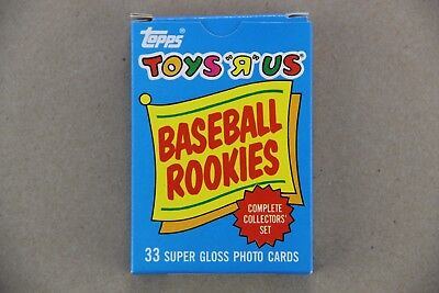 1987 Toys R Us Topps Baseball ROOKIES 33 Card Complete Set Barry Bonds Bo Larkin
