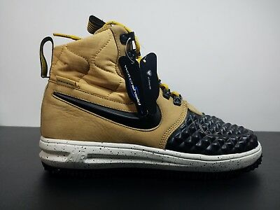 NIKE LUNAR AIR Force 1 Duckboot 17 Metallic Gold LF1 916682