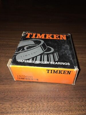 LM104949 Timken New Old Stock Tapered Roller Bearing