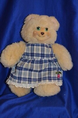 """Fisher Price """"molly Berry"""" Teddy Bear Animal Plush Toy ~ 1998 ~"""