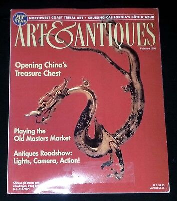 Art & Antiques Magazine - February 1998 Opening China's Treasure Chest