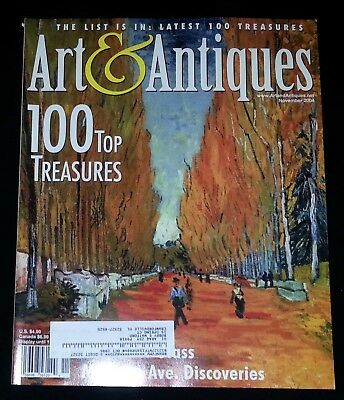 Art & Antiques Magazine - November 2004 100 Top Treasures