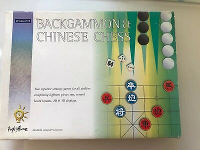 Vintage: PACK Software: BACKGAMMON & CHINESE CHESS:  Windows CE