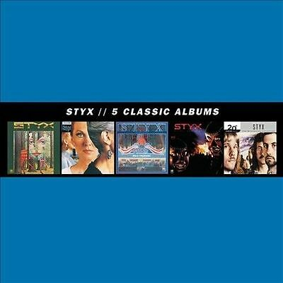 Five Classic Albums [Box] by Styx (CD, 2013, 5 Discs, A&M (USA))