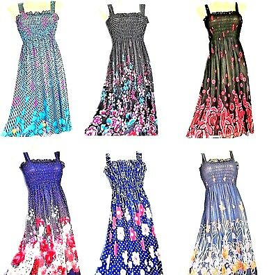 US SELLER new wholesale dresses LOT of 5 pcs fashion sundress 2019 Spring Summer