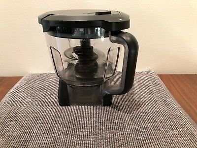 Complete Ninja Food Processor Bowl with 2 Blades and Top for BL770 BL771 BL780