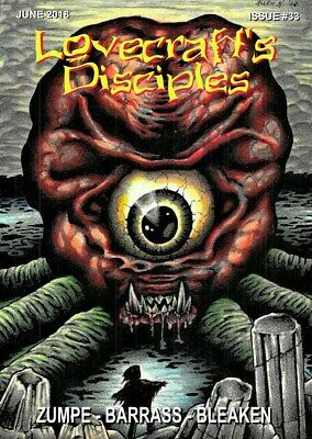 287 LOVECRAFT'S DISCIPLES #33 Rainfall chapbook. H. P. Lovecraft/Cthulhu Mythos