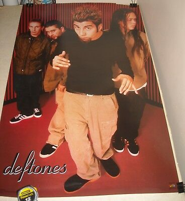ROLLED 1999 DEFTONES BAND PINUP POSTER 22 x 32 Funky Posters # 6175