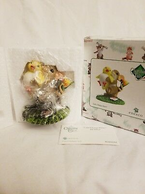"""Enesco Charming Tails """"CAN I KEEP HIM"""" Retro - Dean Griff - new in box"""
