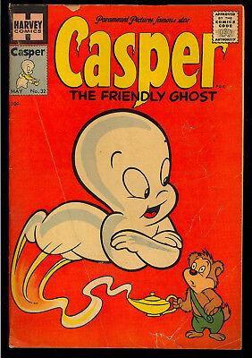 Casper the Friendly Ghost #32 Nice Golden Age Harvey Comic 1955 VG-