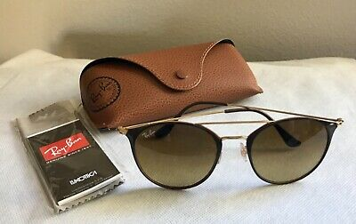 ed8415428a534 RAY-BAN SUNGLASSES RB3546 907151 Brown   Copper light Brown Gradient ...