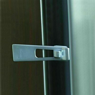 Fridge Freezer Safety Latch Baby Kids Children Toddlers Draw Cabinet Door Lock