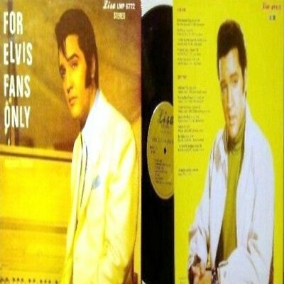 """King ELVIS Presley """"FOR ELVIS FANS ONLY"""" 1967-1972 RCA Studio Outtakes! Masters!"""