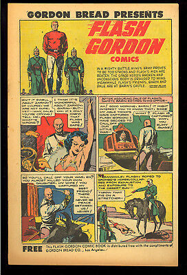 Flash Gordon Comics #1 Gordon Bread Giveaway Harvey File Copy 1951 VF-