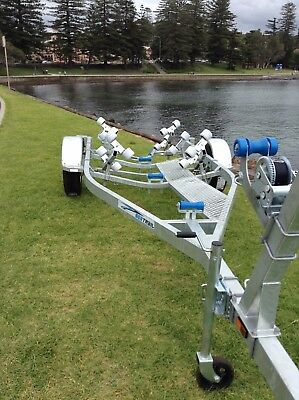 FIB5.5M14Roller Tandem SeaTrail Boat Trailer, suits Boats/ Tinnys  5.4m to 6.0 m