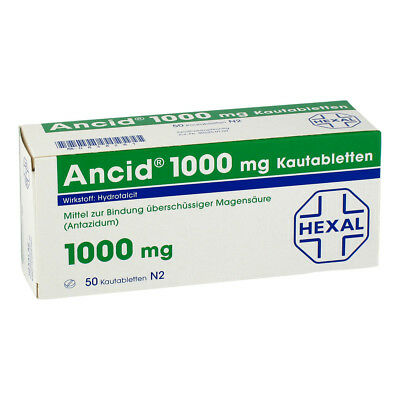 ANCID 1000mg 50stk PZN 00838281