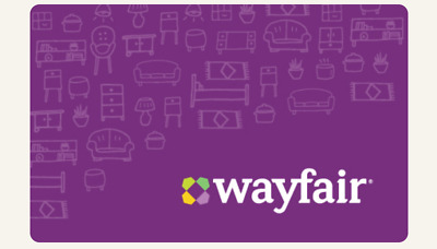 $100 Wayfair Physical Gift Card—USPS Mail Delivery—SENT FAST!