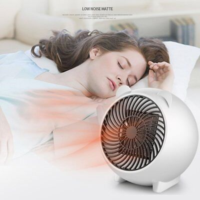 Portable Silent Electric Fan Heater Hot Thermostat For Home Baby Bedroom GT