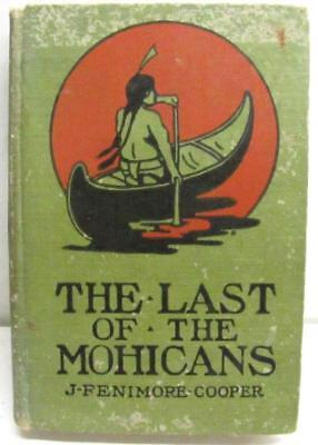 Last of the Mohicans J. Fennimore Cooper antique book