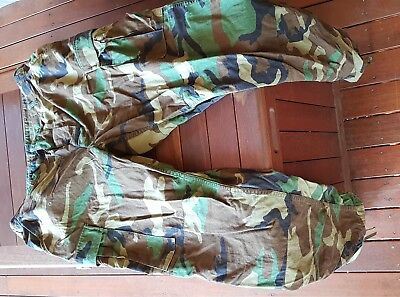"""American Army Woodland pattern pants / trousers – Large / Long – Waist 35 to 39"""""""