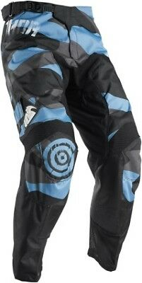 Thor Pulse Covert 2017 MX/Offroad Pants Midnight/Blue/Black