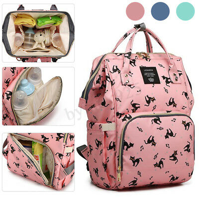 2019 LEQUEEN Mummy Maternity Nappy Baby Diaper Bag Large Handbag Travel Backpack