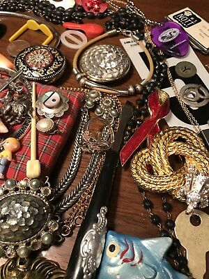 3 Lb Vintage To Now Estate Find Jewelry Lot Junk Drawer Unsearched Untested Lot1
